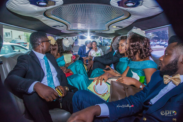 nigerian-couple-and-bridal-train-in-a-limousine-nkem-and-lanre-events-pro-loveweddingsng-2
