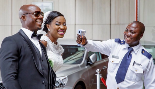 Nigerian Funny Wedding Picture Ebola Jide Odukoya Studios LoveWeddingsNG