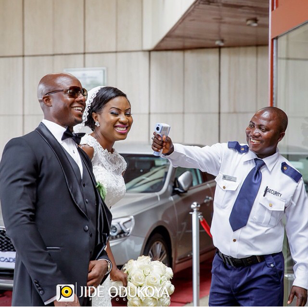 Nigerian Funny Wedding Picture Ebola Jide Odukoya Studios LoveWeddingsNG