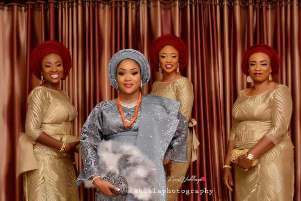 nigerian-traditional-bride-and-friends-bukky-and-tomiwa-klala-photography-loveweddingsng