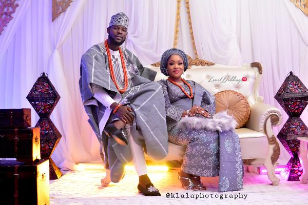 traditionl wedding look