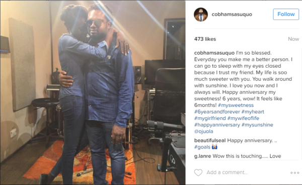 cobhams-ojuola-asuquo-6th-wedding-anniversary-loveweddingsng