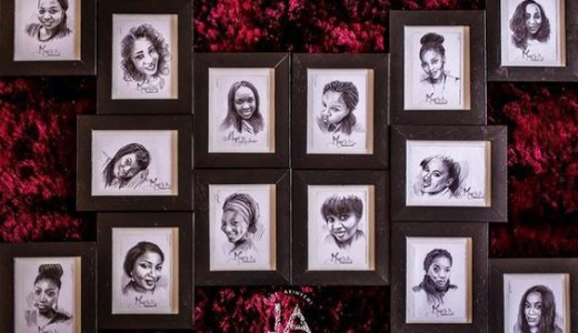 gifts-for-your-bridesmaids-and-groomsmen-framed-illustrations-sketches-loveweddingsng