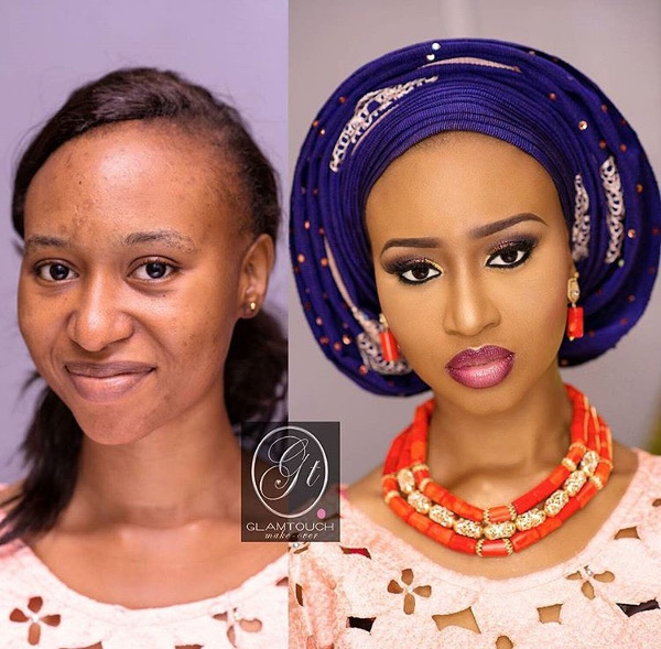 nigerian-bridal-makeovers-before-and-after-glamtouch-makeover-loveweddingsng