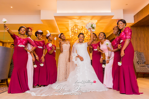 nigerian-police-wedding-ify-and-chisom-bride-and-bridesmaids-the-event-girl-ng-loveweddingsng-1