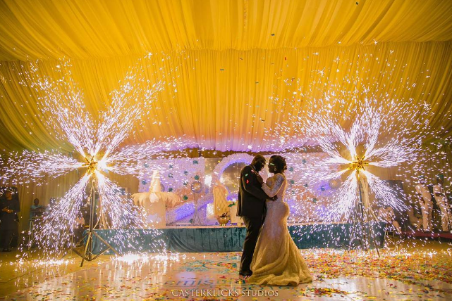 nigerian-wedding-trends-2016-sparklers-loveweddingsng