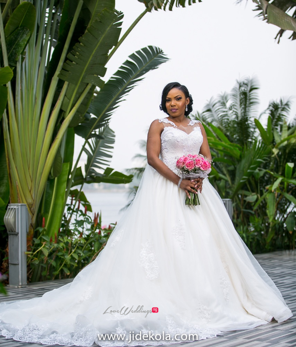 Nigerian Bridal Gown - Prince Kasali and Olori Abisoye Jide Kola LoveWeddingsNG 1