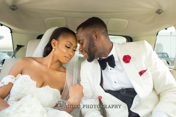 Nigerian Bride and Groom Amaka and Oba 3003 Events LoveWeddingsNG 1