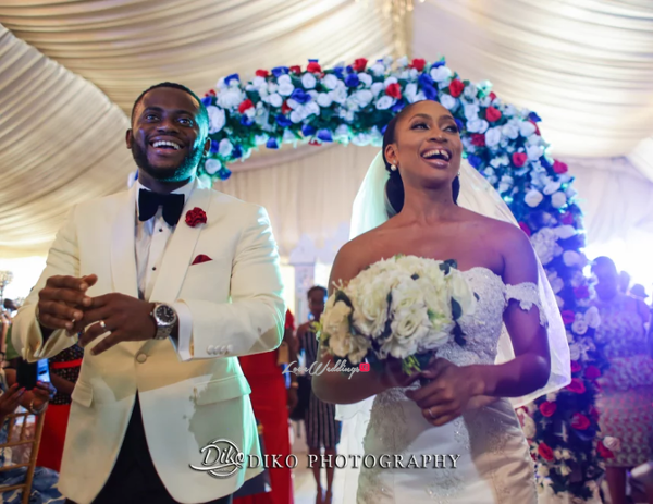 Nigerian Bride and Groom Amaka and Oba 3003 Events LoveWeddingsNG 2