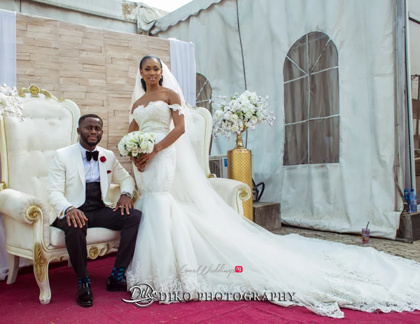 Nigerian Bride and Groom Amaka and Oba 3003 Events LoveWeddingsNG 4