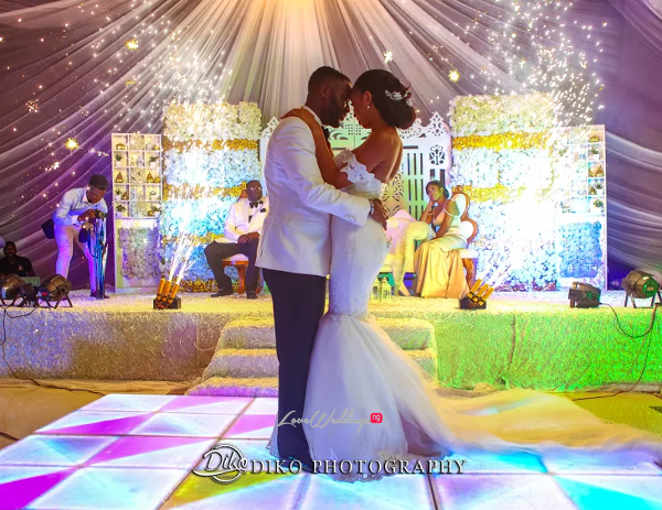 Nigerian Bride and Groom First Dance Amaka and Oba 3003 Events LoveWeddingsNG 2