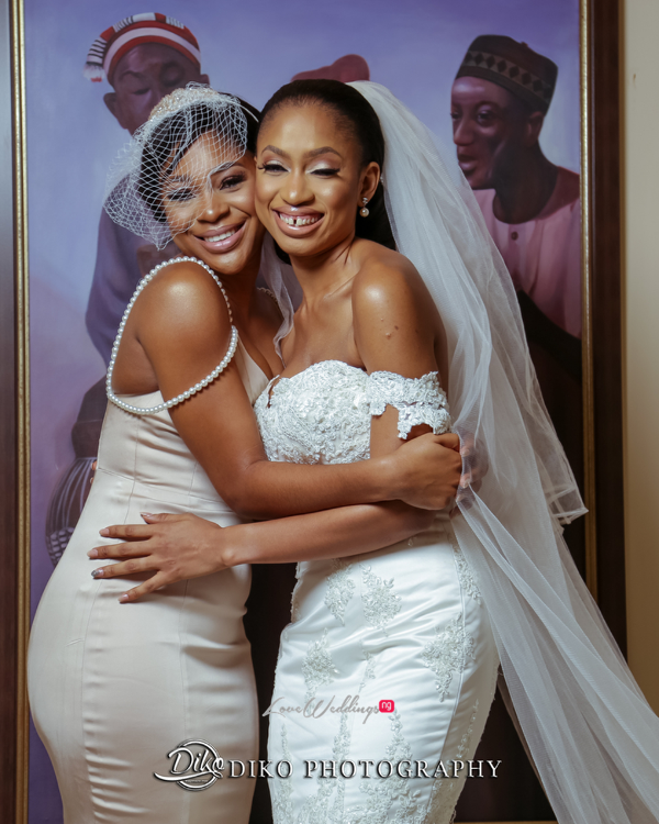 Nigerian Bride and Maid of Honor Amaka and Oba 3003 Events LoveWeddingsNG 1