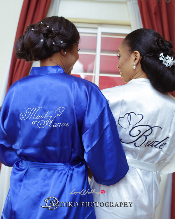 Nigerian Bride and Maid of Honour Amaka and Oba 3003 Events Diko Photography LoveWeddingsNG