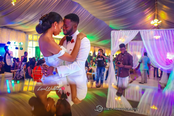 Nigerian Couple First Dance Amaka and Oba 3003 Events LoveWeddingsNG 1