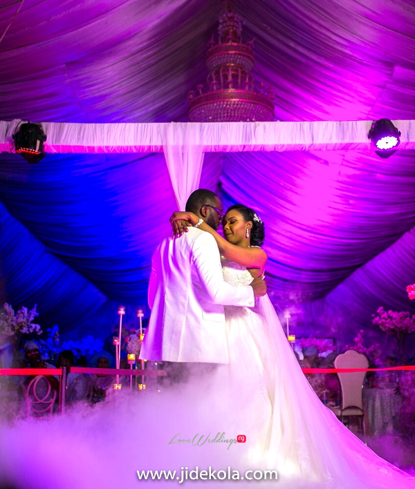 Nigerian Couple First Dance - Prince Kasali and Olori Abisoye Jide Kola LoveWeddingsNG 1