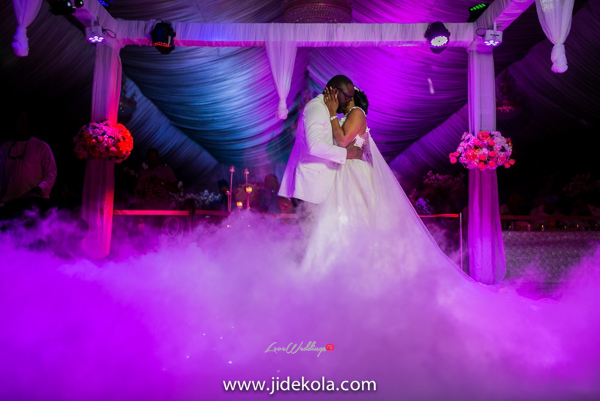 Nigerian Couple First Dance - Prince Kasali and Olori Abisoye Jide Kola LoveWeddingsNG