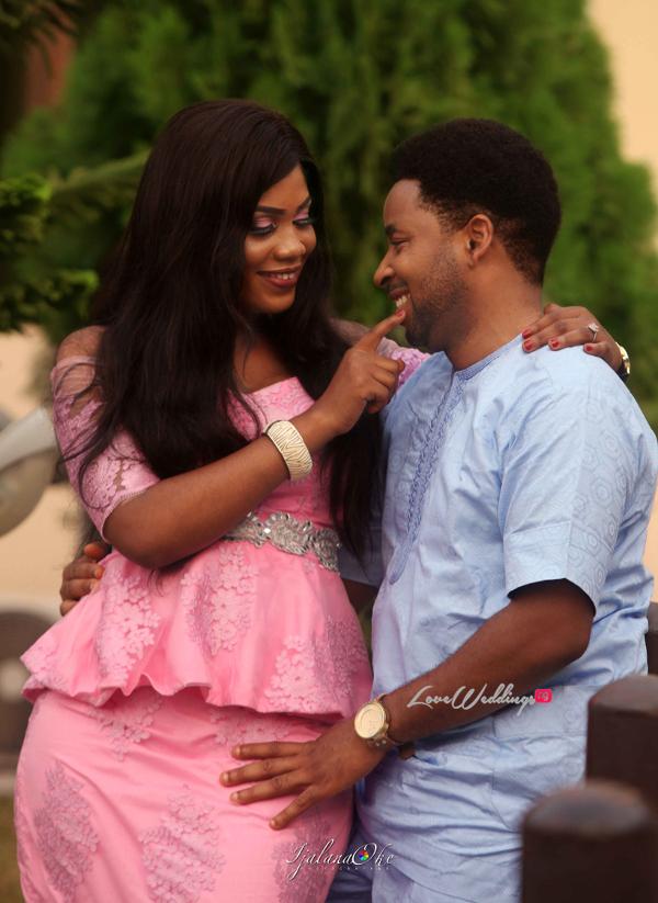 Nigerian PreWedding Shoot Bidemi and Kenny Ijalana Oke LoveWeddingsNG 1