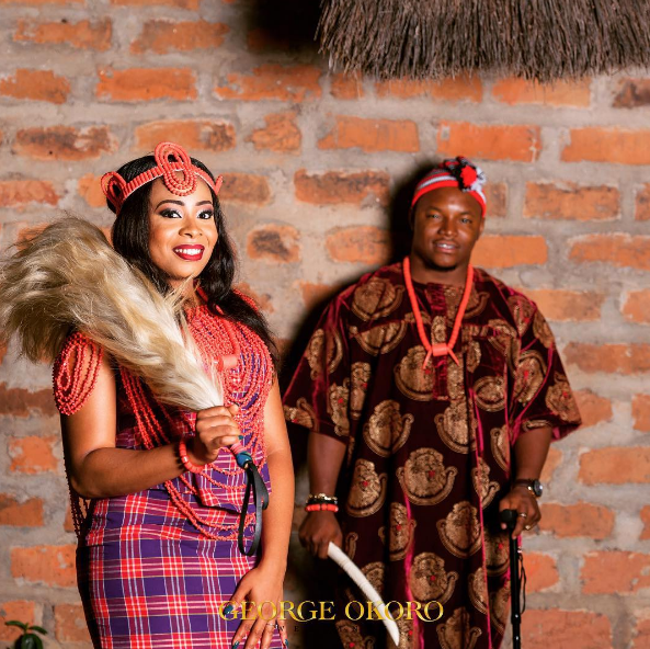 Nigerian Traditional Themed PreWedding Shoot Adaugo and Uche George Okoro LoveWeddingsNG 2