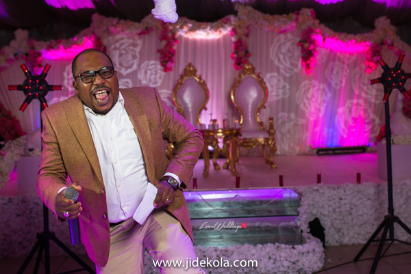 Nigerian Wedding MC - Tee A Prince Kasali and Olori Abisoye Jide Kola LoveWeddingsNG