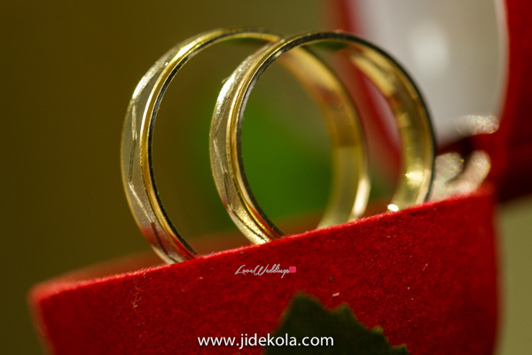 Nigerian Wedding - Prince Kasali and Olori Abisoye Wedding Rings LoveWeddingsNG