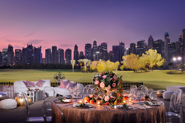 The Wedding Fair by Emaar Hospitality Group. Venue Option-The Address Montgomerie Dubai