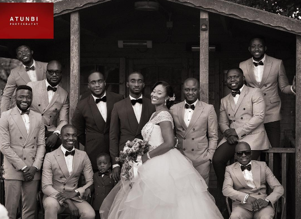 Tolu and Chidinma's White Wedding Atunbi LoveWeddingsNG