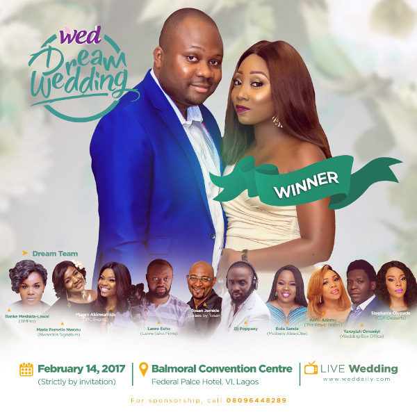 WED Dream Wedding 2017 LoveWeddingsNG