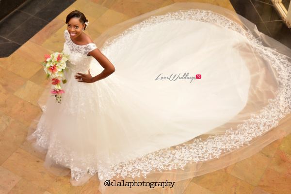 Nigerian Bridal Gown Dami and Bayo Klala Photography LoveweddingsNG 1