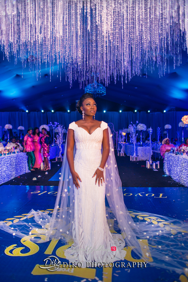 Nigerian Bride Second Dress Toyosi Ilupeju and Wole Makinwa WED Dream Wedding Details Diko Photography LoveWeddingsNG 2