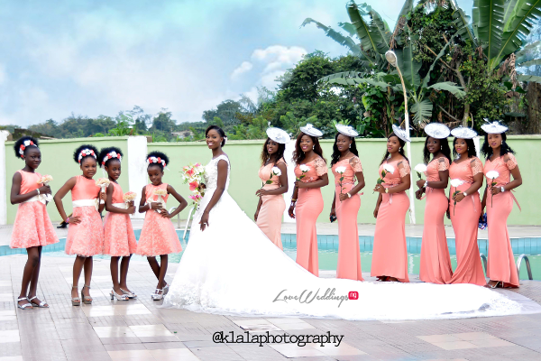 Nigerian Bride and Bridesmaids Dami and Bayo Klala Photography LoveweddingsNG 1