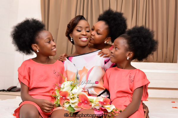 Nigerian Bride and Little Brides Dami and Bayo Klala Photography LoveweddingsNG