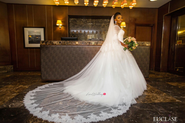 Nigerian Bride in Gown Toyosi and Wole WED Dream Wedding From Paris With Love 17 LoveWeddingsNG