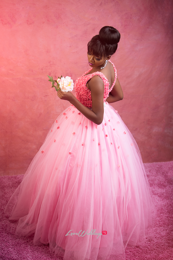 Nigerian Bride in Pink LoveWeddingsNG Eleanor Goodey Photography 1