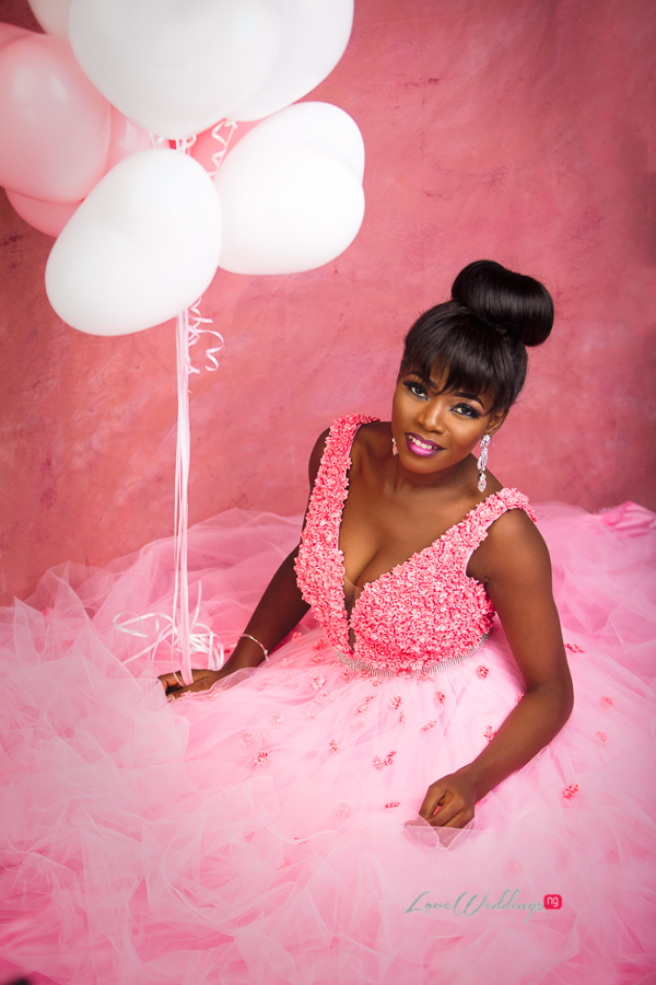 Nigerian Bride in Pink LoveWeddingsNG Eleanor Goodey Photography 2