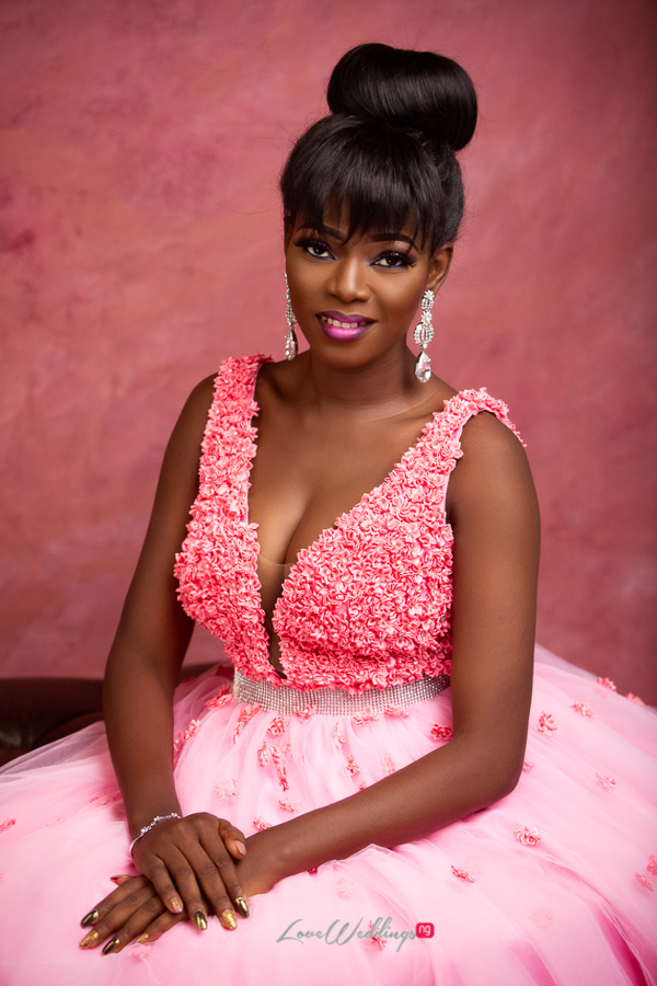 Nigerian Bride in Pink LoveWeddingsNG Eleanor Goodey Photography 4