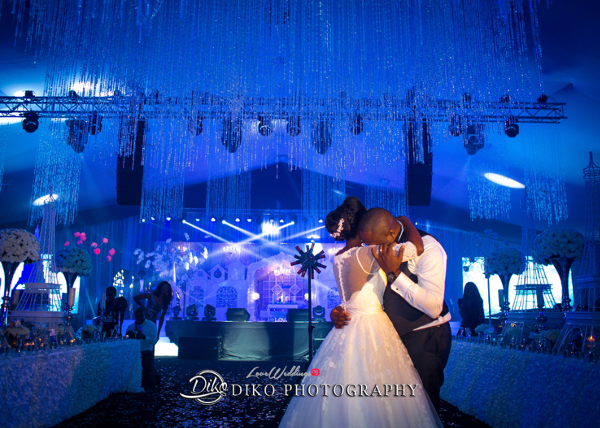 Nigerian Couple First Dance Toyosi Ilupeju and Wole Makinwa WED Dream Wedding Details Diko Photography LoveWeddingsNG 2