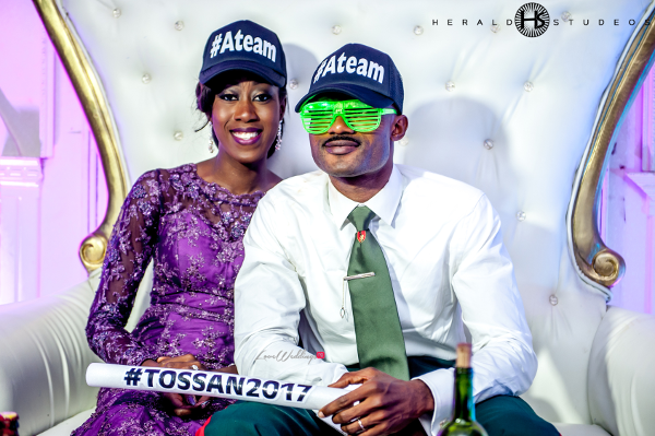 Nigerian Couple Snapbacks Tosin and Hassan Herald Studeos LoveWeddingsNG