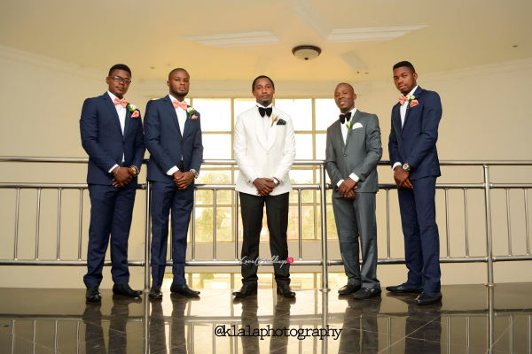 Nigerian Groom and Groomsmen Dami and Bayo Klala Photography LoveweddingsNG