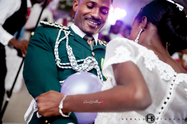 Nigerian Military Wedding First Dance Tosin and Hassan Herald Studeos LoveWeddingsNG 1