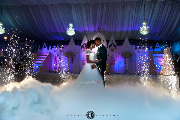 Nigerian Military Wedding First Dance Tosin and Hassan Herald Studeos LoveWeddingsNG 2