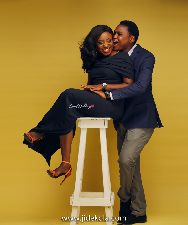 Nigerian PreWedding Shoot Funke and Akinyemi Olayiwola Jide Kola LoveWeddingsNG