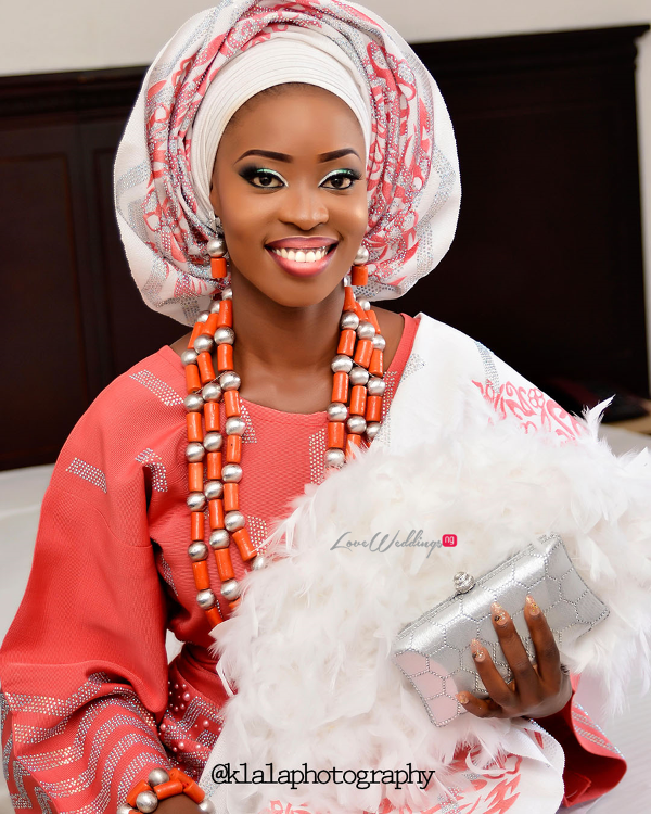 Nigerian Traditional Bride Dami and Bayo Klala Photography LoveweddingsNG 1
