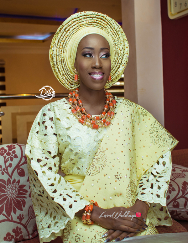 Nigerian Traditional Bride Tosin and Alhassan Diko Photography LoveWeddingsNG 1