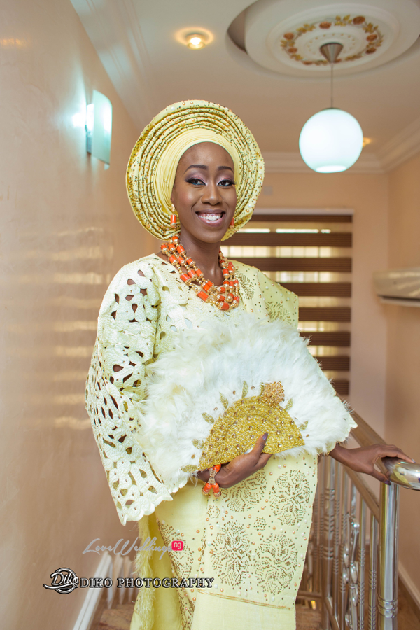 Nigerian Traditional Bride Tosin and Alhassan Diko Photography LoveWeddingsNG 2