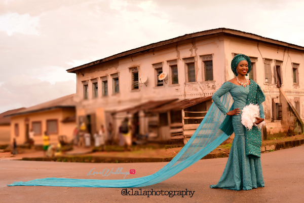 Nigerian Traditional Bride Train Dami and Bayo Klala Photography LoveweddingsNG