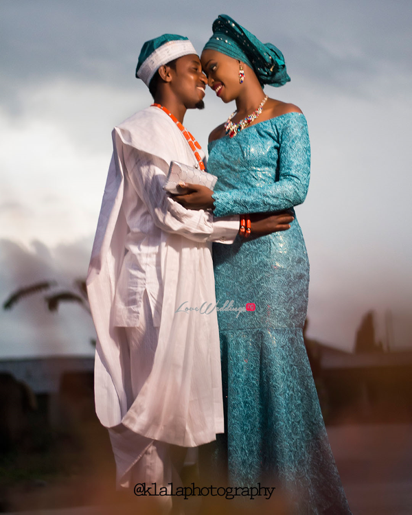 Nigerian Traditional Bride and Groom Dami and Bayo Klala Photography LoveweddingsNG 1