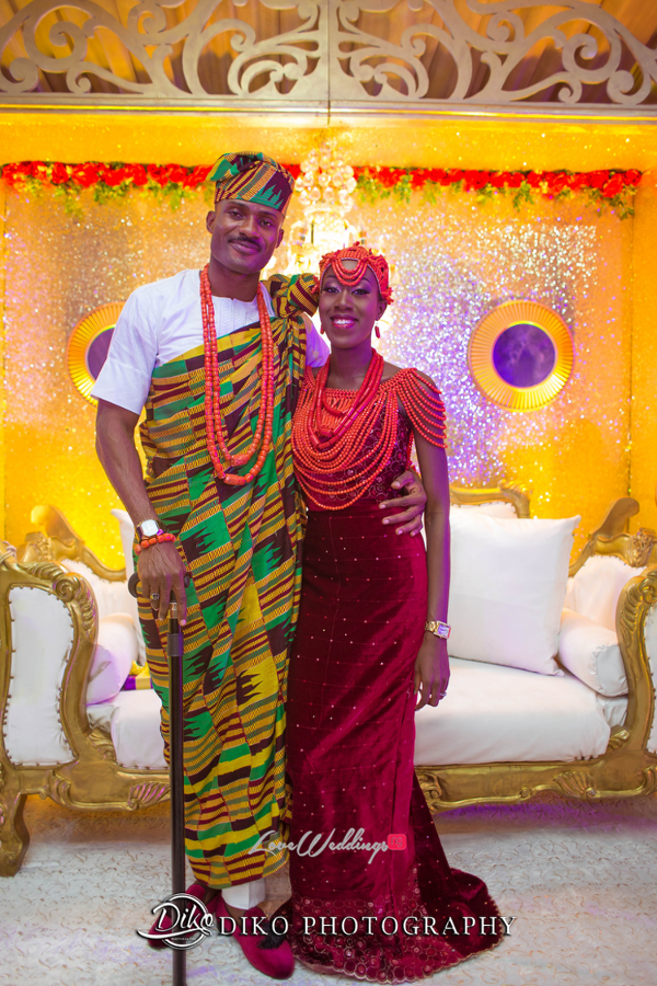 Nigerian Traditional Bride and Groom Tosin and Alhassan Diko Photography LoveWeddingsNG 2