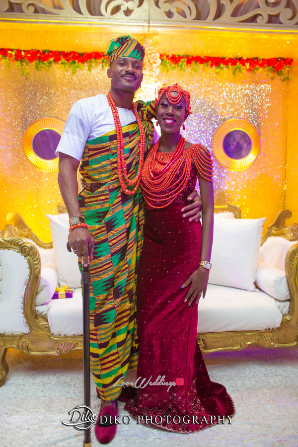 Nigerian Traditional Bride and Groom Tosin and Alhassan Diko Photography LoveWeddingsNG 3