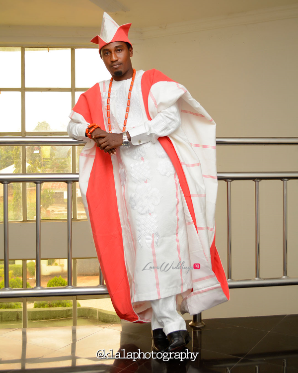 Nigerian Traditional Groom Dami and Bayo Klala Photography LoveweddingsNG