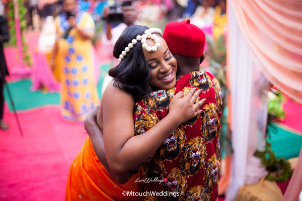 Nigerian Traditional Igbo Bride and Dad Adaora and Solomon MTouch Weddings LoveWeddingsNG